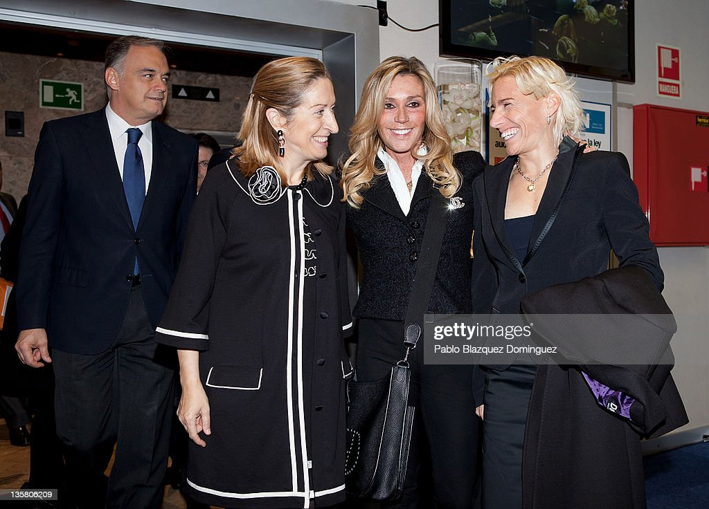 Princess Elena of Spain Attends 'Alfonso Ussia Awards 2011'