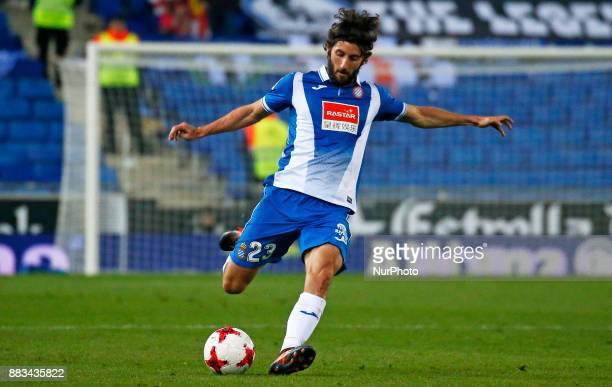 Esteban Granero during the Copa del Rey match between RCD Espanyol and CD Tenerifei n Barcelona on November 30 2017