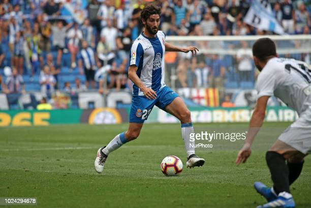 Esteban Granero during the match between RCD Espanyol and Valencia CF corresponding to the week 2 of que spanish league played at the RCDE Stadium on...