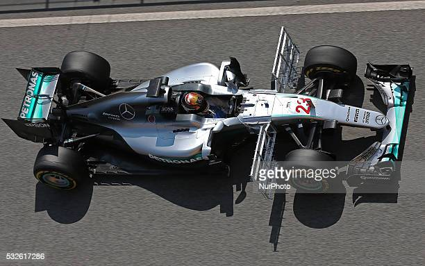 Esteban Oco during the second day of the Formula 1 test held in the BarcelonaCatalunya Circuit on may 18 2016Photo Jordi...