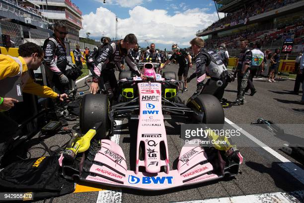 Esteban Ocon Force IndiaMercedes VJM10 Grand Prix of Spain Circuit de BarcelonaCatalunya 14 May 2017