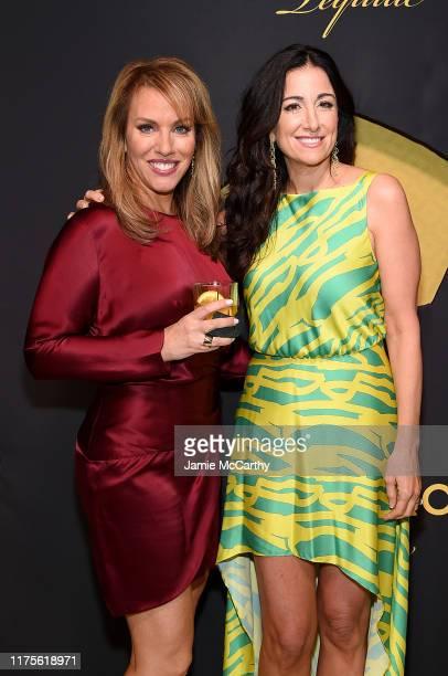 Estee Portnoy and Cincoro founding partner Emilia Fazzalari attend the Cincoro Tequila launch at CATCH Steak on September 18 2019 in New York City