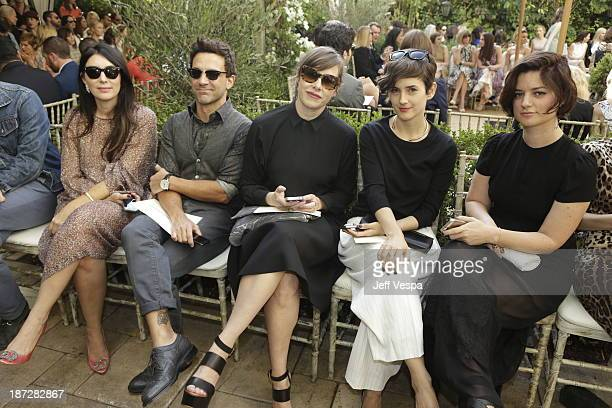 Estee Stanley George Kotsiopoulos Penny Lovell Karla Welch and Ilaria Urbinati attend the 2013 CFDA/Vogue Fashion Fund Event Presented by...