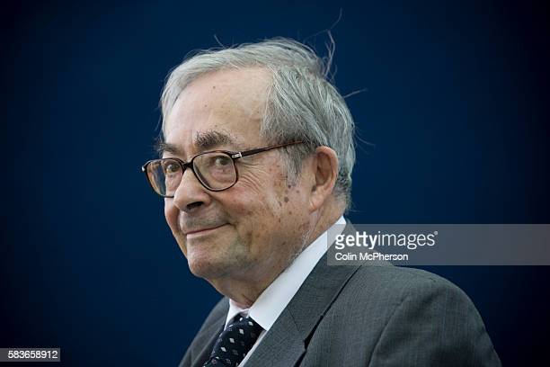 Esteemed American thinker and intellectual critic George Steiner pictured at the Edinburgh International Book Festival where he talked about his new...
