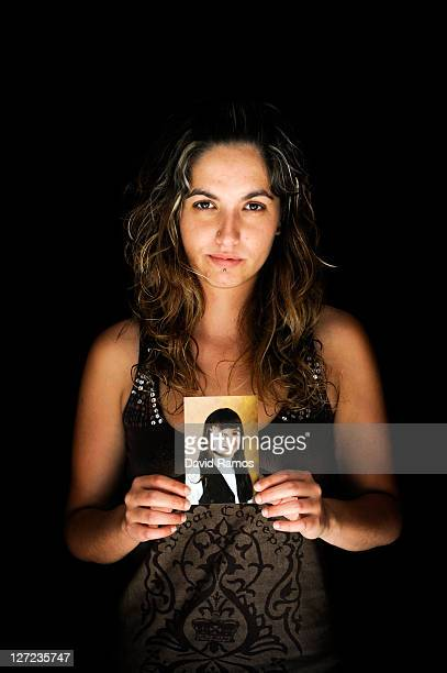 Estefania Anguita of Spain poses for a portrait at her home after an interview with Marie Claire on May 26 2011 in Cubelles near Barcelona Spain...