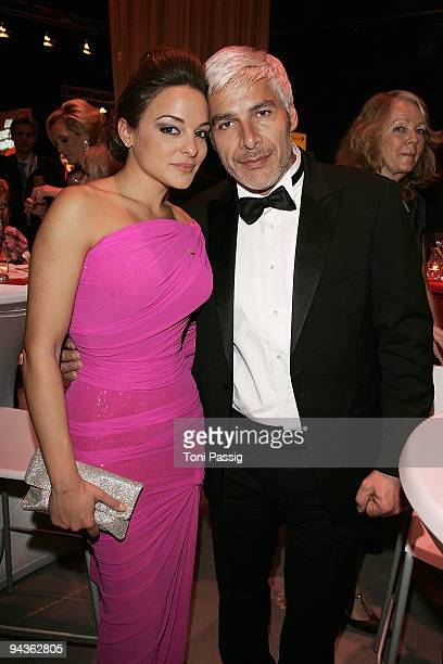 Estefania Kuester and boyfriend Pino Persico attend the aftershow party of 'Ein Herz fuer Kinder' Gala at Studio 20 at Adlershof on December 12 2009...