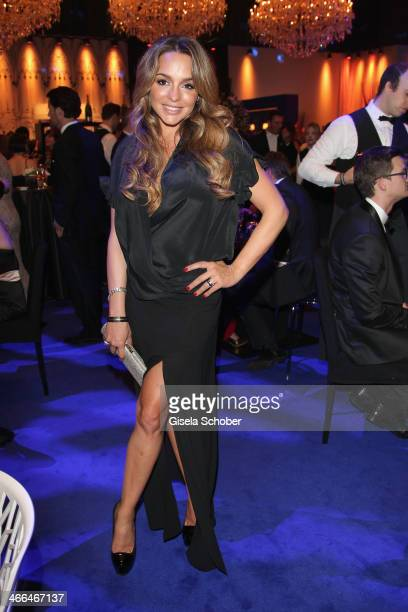 Estefania Kuester attends the after show party of Goldene Kamera 2014 Hangar 7 at Tempelhof Airport on February 1, 2014 in Berlin, Germany.