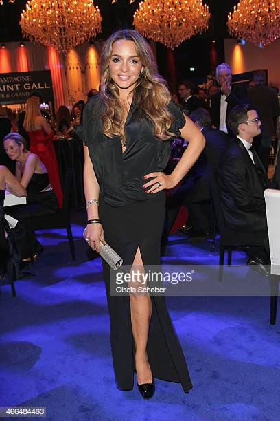 Estefania Kuester attends the after show party of Goldene Kamera 2014 Hangar 7 at Tempelhof Airport on February 1 2014 in Berlin Germany