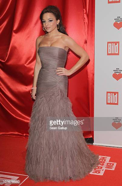 Estefania Kuester attends the 'Ein Herz Fuer Kinder' charity gala at Axel Springer Haus on December 18 2010 in Berlin Germany