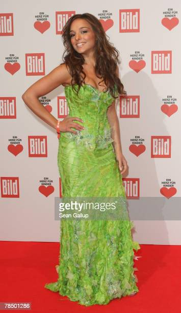 Estefania Kuester attends the Ein Herz fuer Kinder charity telethon gala on December 15 2007 in Berlin Germany