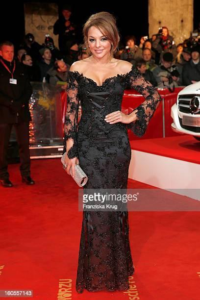 Estefania Kuester attends the 'Goldene Kamera 2013' on February 2, 2013 in Berlin, Germany.