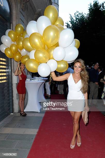 Estefania Kuester attends the Opening ID REBORN SPAs on May 31 2012 in Palma de Mallorca Spain