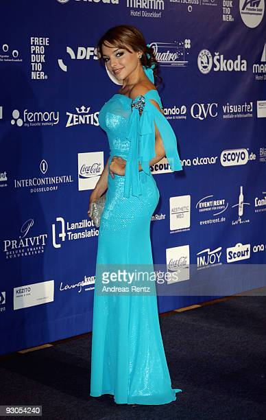 Estefania Kuester attends the Unesco Charity Gala 2009 at the Maritim Hotel on November 14, 2009 in Dusseldorf, Germany.