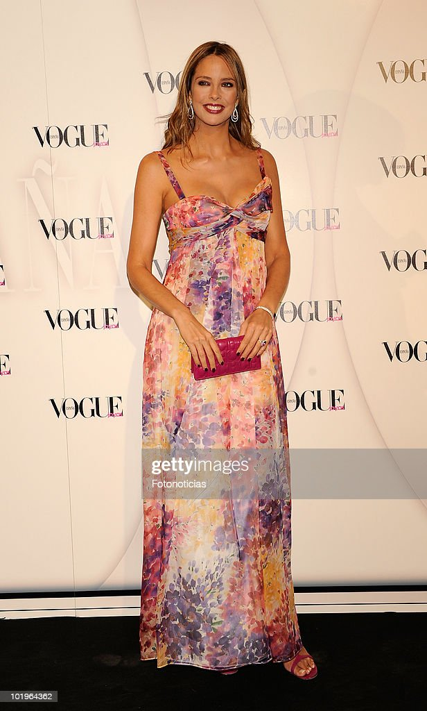 Estefania Luyck arrives to the 'VII Vogue Joyas Awards' (VII Vogue Jewellery Awards) at the Madrid Stock Exchange Building on June 10, 2010 in Madrid, Spain.