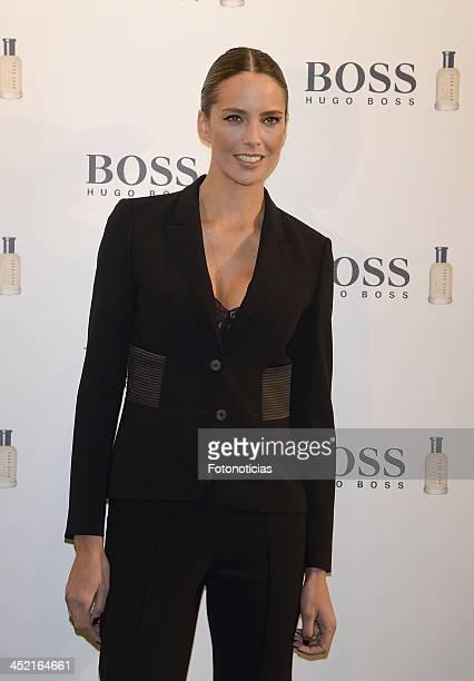 Estefania Luyck attends 'Boss Bottled' 15th Anniversary celebration at Eurostars Hotel on November 26 2013 in Madrid Spain
