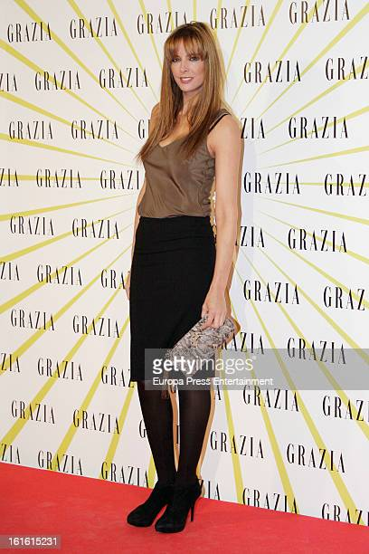 Estefania Luyck attends Grazia Magazine launch party at Circo Price Theatre on February 12 2013 in Madrid Spain