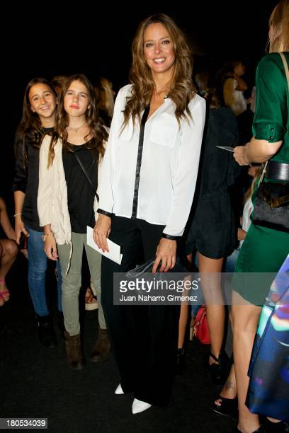 Estefania Luyk attends a fashion show during the Mercedes Benz Fashion Week Madrid Spring/Summer 2014 on September 14 2013 in Madrid Spain
