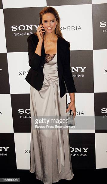 Estefania Luyk attends Sony Xperia Z new spot premiere at Callao Cinema on March 12 2013 in Madrid Spain