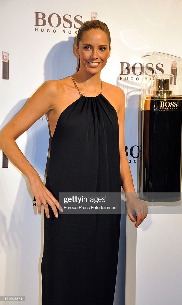 Estefania Luyk attends the launch of 'Boss Nuit Pour Femme' fragrance on October 29, 2012 in Madrid, Spain.