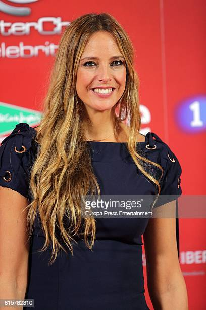 Estefania Luyk attends the presentation of MasterChef Celebrity on October 19 2016 in Madrid Spain