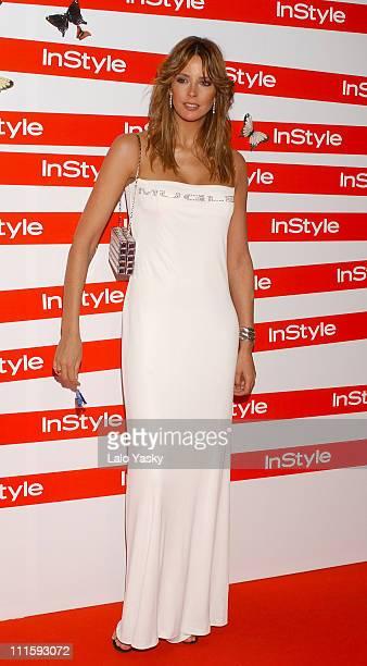 Estefania Luyk during In Style Magazine Spring Dinner at La Riviera Club in Madrid Spain