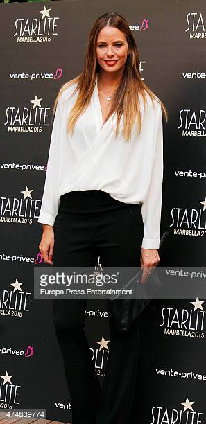 Estefania Luyk presents 'Pure Starlite' party presentation on May 26 2015 in Madrid Spain
