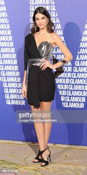 Estela Grande attend the Glamour Magazine Awards and 15th anniversary dinner at The Ritz Hotel on December 12 2017 in Madrid Spain