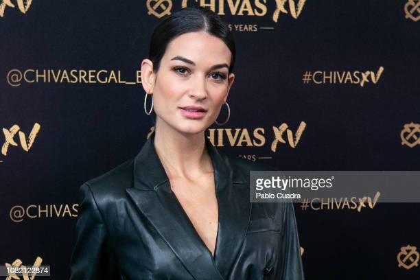 Estela Grande attends the Chivas XV presentation party at Callao Cinema on December 13 2018 in Madrid Spain