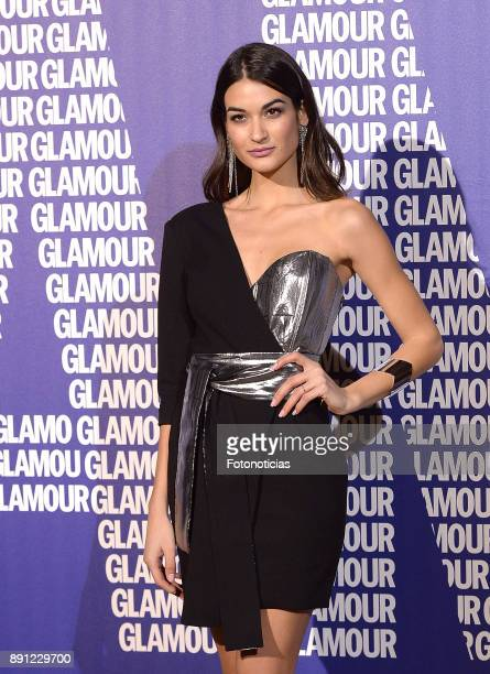 Estela Grande attends the Glamour Magazine Awards and 15th anniversary dinner at The Ritz Hotel on December 12 2017 in Madrid Spain