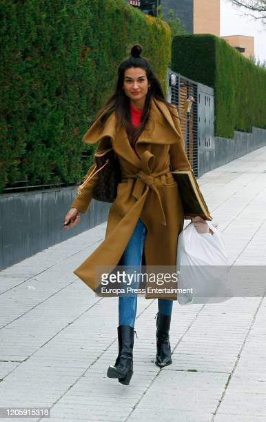 Estela Grande is seen on February 12 2020 in Madrid Spain