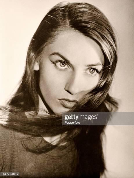 Estella Blain French actress circa 1955