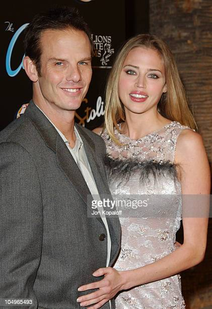 Estella Warren and Peter Berg during The Cooler Los Angeles Premiere at The Egyptian Theater in Hollywood California United States