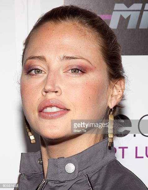 Estella Warren attends Mi6 Nightclub Grand Opening Party on September 15 2009 in West Hollywood California
