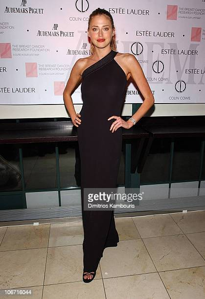 Estella Warren during Audemars Piguet and The Breast Cancer Research Foundation Join Forces In 'A Promesse To Win' at Guastavino's in New York City...