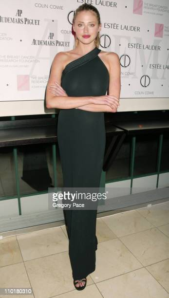 Estella Warren during Audemars Piguet and The Breast Cancer Research Foundation Join Forces In A Promesse To Win at Guastavino's in New York City New...