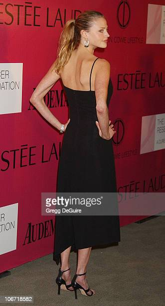 Estella Warren during Audemars Piguet Promesse to Win Breast Cancer Research Foundation Benefit Arrivals at Astra West in West Hollywood California...