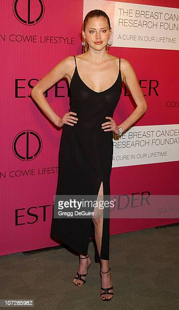 Estella Warren during Audemars Piguet 'Promesse to Win' Breast Cancer Research Foundation Benefit Arrivals at Astra West in West Hollywood California...