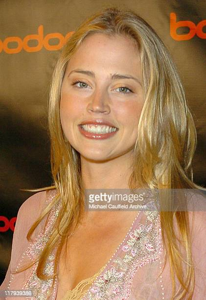 Estella Warren during bodognet Salute to the Troops Charity Event Benefitting Military Charity Fisher House Foundation Poker Tournament at Kahala...