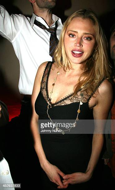 Estella Warren during Bunny Chow 1st Anniversary at Cain in New York City April 12 2006 at Cain in New York City New York United States