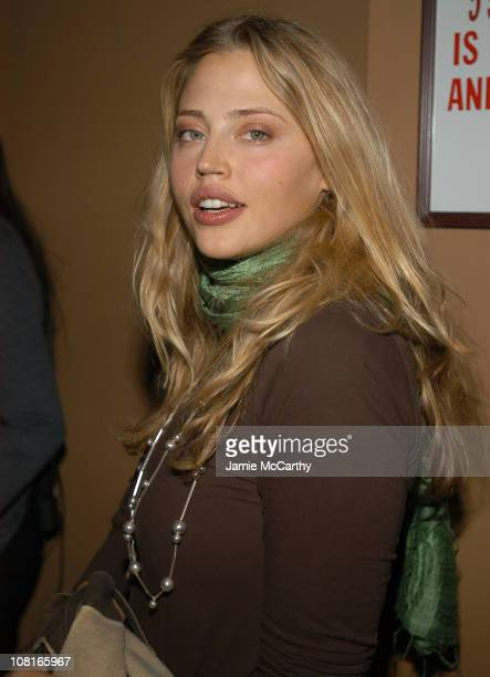 Estella Warren during CocaCola Make It Real Launch Party at Marquee in New York City New York United States