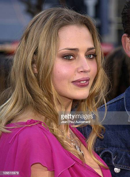 Estella Warren during Kangaroo Jack Premiere Los Angeles at Chinese Theatre in Hollywood California United States