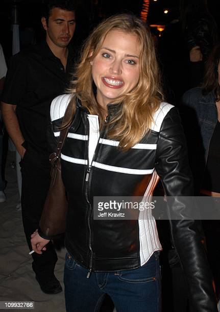 Estella Warren during Playstation 2 E3 Party Playa Del Playstation Inside at Viceroy Hotel in Santa Monica CA United States