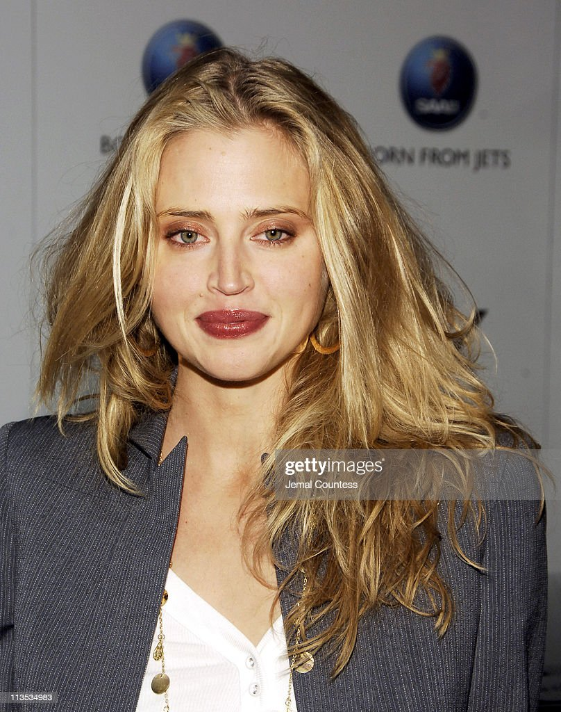 Estella Warren during SAAB Introduces Their New Concept Vehicle The 'Aero X' and Announces Their Philanthropic Partnership With Angel Flight America at The Altman Building in New York City, New York, United States.