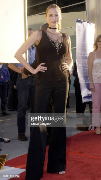 Estella Warren during The Cooler Premiere Red Carpet Arrivals at The Arclight Dome in Hollywood California United States