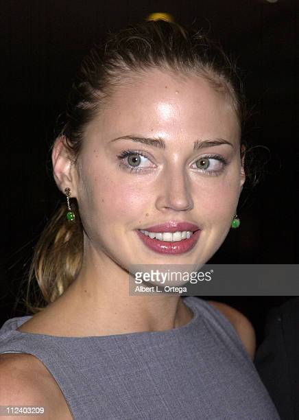 Estella Warren during Wish Night 2002 Gala Honoring Halle Berry by The MakeAWish Foundation at The St Regis Hotel in Century City California United...