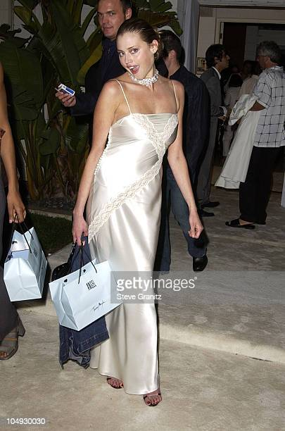 Estella Warren during Women's Wear Daily The Ultimate Fashion Authority Hosted White Hot Diamonds The Exclusive PreOscar Fashion Event Where...