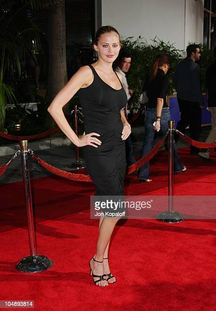 Estella Warren during World Premiere of The Rundown at Universal Amphitheatre in Universal City California United States