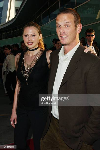Estella Warren Peter Berg during 2003 IFP Los Angeles Film Festival Premiere of The Cooler at ArcLight Cinerama Dome in Hollywood California United...