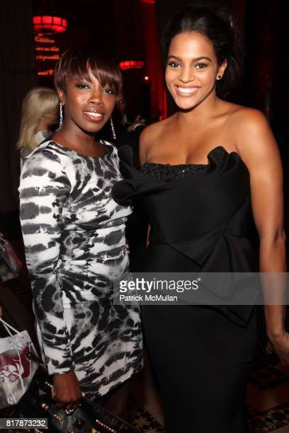 Estelle and Amber Tolliver attend 2010 New Yorkers For Children Fall Gala presented by CIRCA at Cipriani 42nd on September 21 2010 in New York City