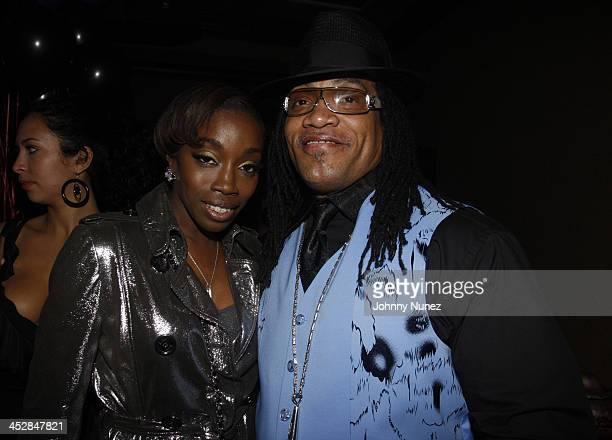 Estelle and Melly Mel attend Vaughn Anthony's Birthday Bash Hosted by John Legend on May 22 2008 in New York City